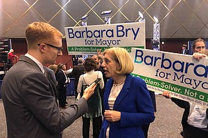 Photo for Bry Passes Sherman In Mayoral Race With Razor-Thin Margin