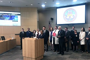 Photo for County Health Officials Say Current Coronavirus Cases
