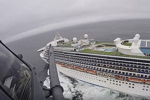 Photo for 21 On Cruise Ship Off California Test Positive For Virus