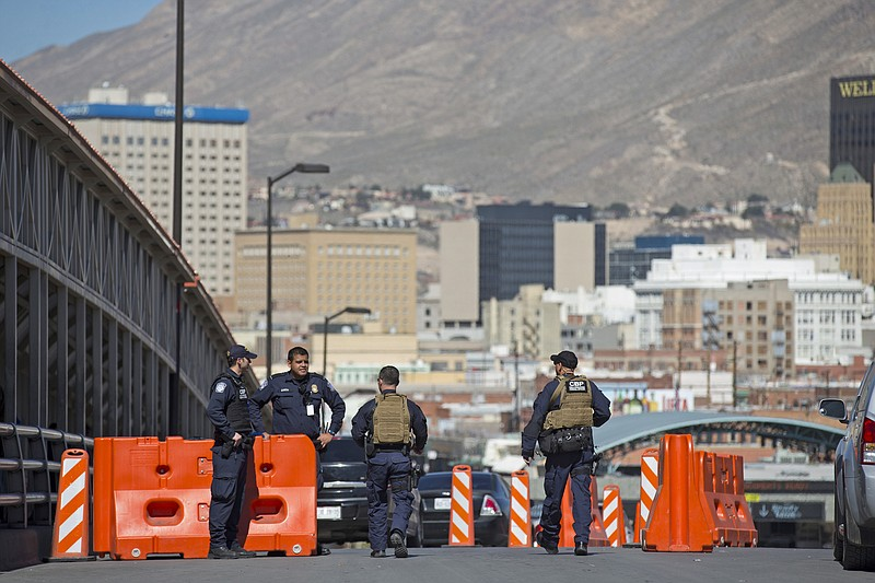 In this Tuesday, Feb. 16, 2016 file photo, U.S. Customs and Border Protection...