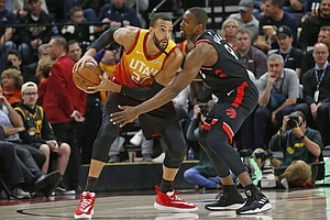 Photo for NBA Suspends Season After Player Contracts Coronavirus