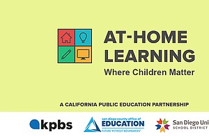 Photo for KPBS, SDUSD, County Ed Launch Remote Education Resources While Schools Closed