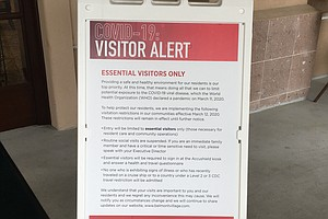 Photo for San Diego Senior Care Facilities On Lockdown Due To Coronavirus