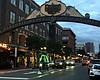 The Gaslamp Quarters in downtown San Diego on M...