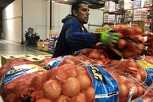 Photo for San Diego Food Banks Prioritize Meals For Seniors As Coronavirus Increases De...