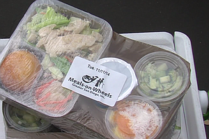 Photo for Meals On Wheels Continues Delivery Service To Seniors In San Diego Amid Coron...