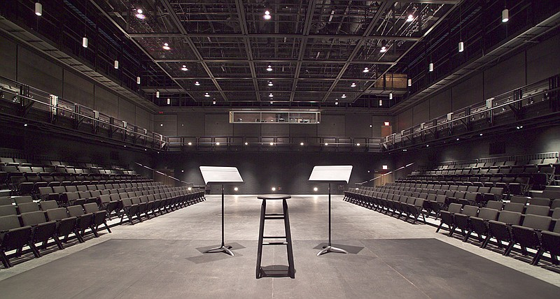 The La Jolla Playhouse's Sheila and Hughes Potiker Theatre is pictured in thi...