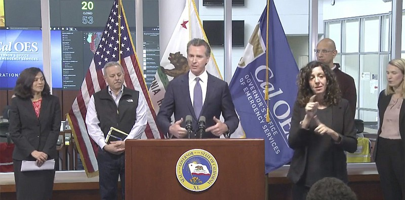 Gov. Gavin Newsom updates the public about California's response to the coron...