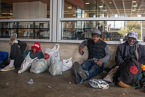 Photo for Few Homeless Off California's Streets As Virus Spreads