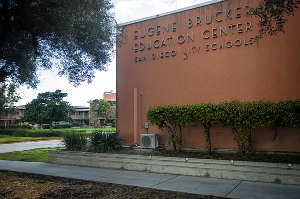 The San Diego Unified School District headquarters is sho...