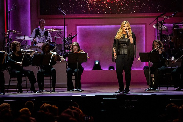 Trisha Yearwood at the live taping at DAR Constitution Ha...