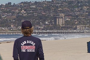 As Beaches Remain Closed, Four San Diego Lifeguards Test Positive For Coronav...
