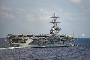 Photo for Navy Fires USS Theodore Roosevelt Captain Who Sought Help For Virus-Stricken ...