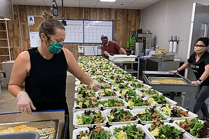 Photo for North County Nonprofit Teams Up With Shuttered Restaurants To Feed The Needy ...