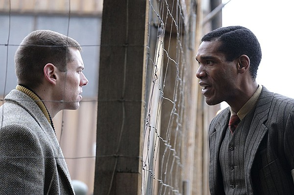 Shown from left to right: Brian J. Smith (as Webster O'Co...