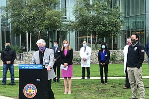 Photo for Federal Hospital Coming To Palomar Medical Center As Officials Brace For Coro...