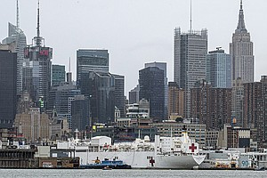 In New York, Overflow Hospitals At Javits And On Navy Ship Have Been Largely ...