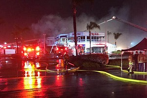 Photo for 3-Alarm Fire Guts China Max Restaurant, Causes $4.5M In Damage To Kearny Mesa...