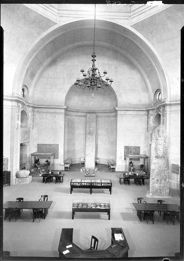 San Diego Museum of Man in the 1940s. During World War II...