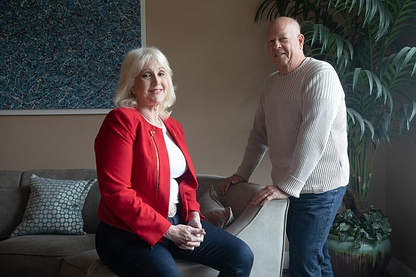Sharon and Barry Herbst, who own residential properties i...