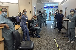 Photo for Nurses Push Back On Pressure To Work Without Right Equipment