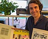 Chris Cohen with some of his Private Playlist s...