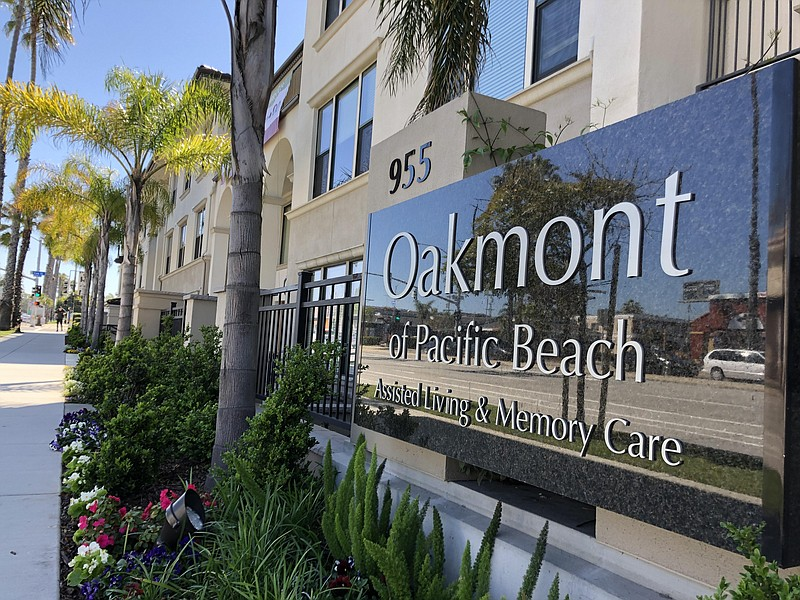 Pictured above is Oakmont of Pacific Beach where a driver said he was recruit...