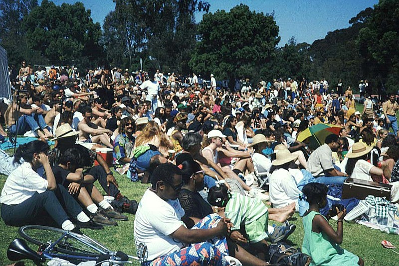 San Diego's first Earth Day in April 1990