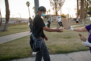 Photo for In Imperial County, Nonprofits Struggle To Serve Homeless During COVID-19