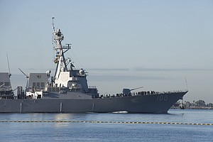 Photo for Navy Destroyer With COVID-19 Outbreak Makes Stop In San Diego
