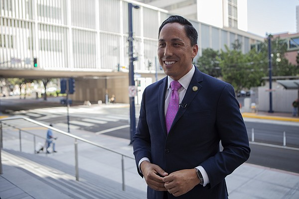 Assemblyman Todd Gloria, a candidate for San Diego mayor,...
