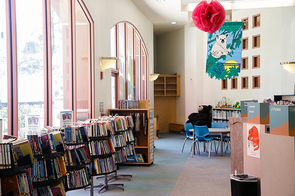 The children's room at the Rancho Peñasquitos Library is ...