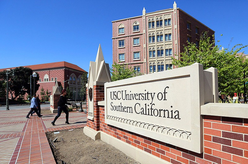 The University Village area of the University of Southern California in Los A...