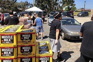 Photo for South San Diego Church Donates 30,000 Pounds Of Food And 50,000 Diapers