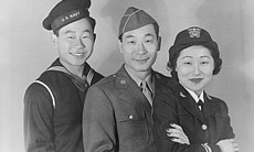 Anh siblings WWII. (undated photo)