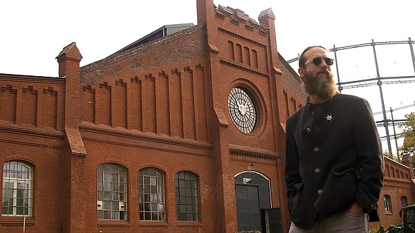 Stone Brewing's co-founder Greg Koch at the 19th century ...