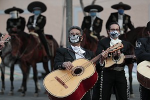 Photo for San Diego Mariachi Bands Struggle, Adapt To Pandemic Conditions