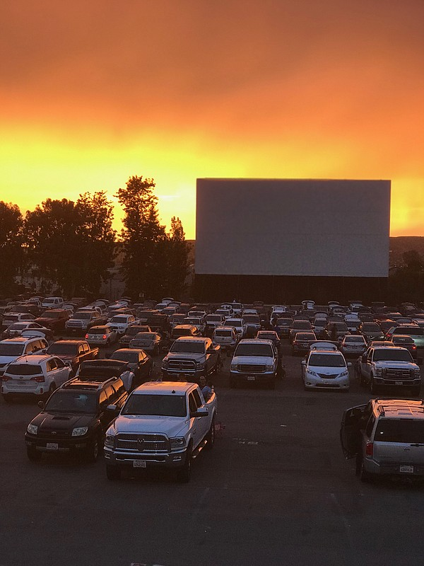 The Santee Drive-In before the coronavirus pandemic force...