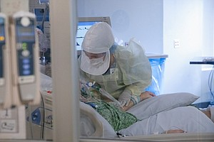 Photo for California Hospitals Prepping For Grim COVID-19 Choices