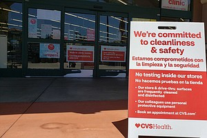 Photo for CVS To Open Seven Drive-Thru Coronavirus Testing Sites In San Diego County