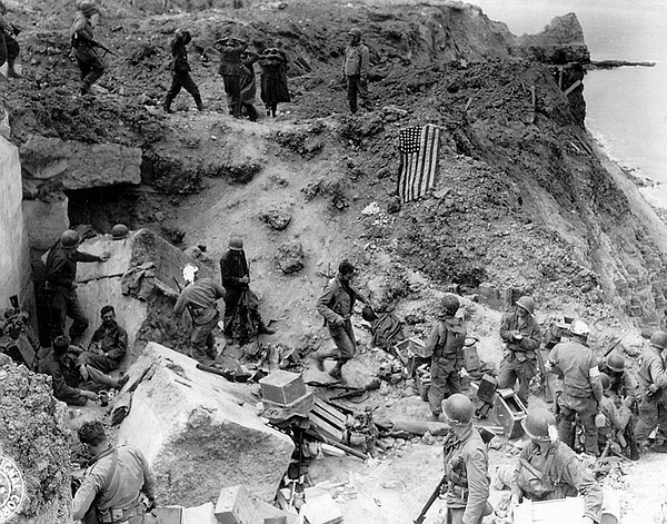 """""""D-Day At Pointe-Du-Hoc"""" chronicles the dangerous and dar..."""