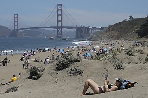 Photo for Californians Venture Outside As State Relaxes Virus Rules
