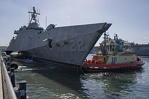 Photo for New Littoral Combat Ship Arrives In San Diego