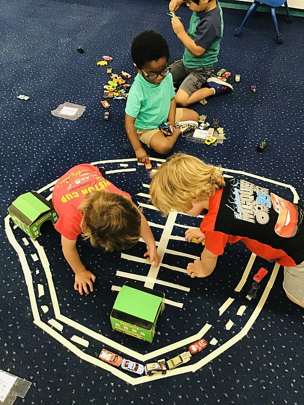 Children play at Children's Growing Center in Mission Val...