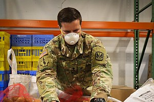 Photo for As It Responds To The Pandemic, The National Guard Says More People Want To E...