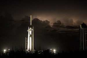 Photo for NASA And SpaceX Launch First Astronauts To Orbit From U.S. Since 2011