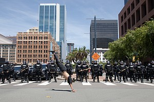 Photo for Photos: The Protests George Floyd's Killing Sparked In San Diego