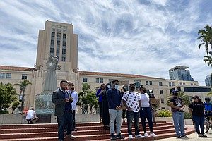 San Diego Black Community Leaders, Allies Call For Police Reform