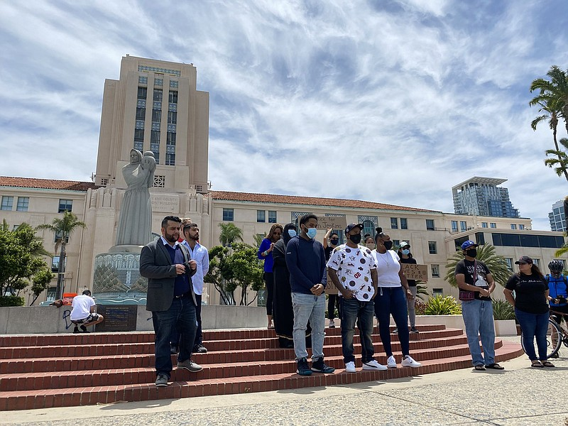 Black leaders speak about ongoing protests over the death of George Floyd in ...