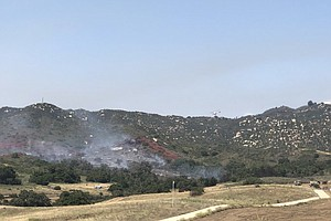 Photo for Camp Pendleton Wildfire Prompts Residential Evacuations